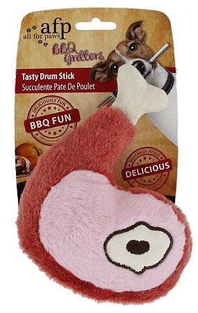 Brinquedo Pelúcia Afp Coxinha Para Cachorro Tam G - BBQ Churrasco