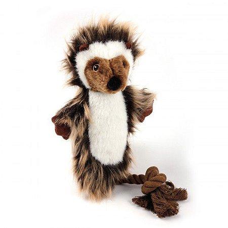 Brinquedo Pelúcia E Corda Ouriço Realista Afp Para Cachorro - Classic