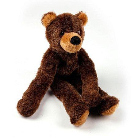 Brinquedo Pelúcia E Corda Urso Michel Bear Afp Para Cachorro - Classic