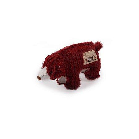 Brinquedo Pelúcia Afp Urso Para Cachorro - Rustic