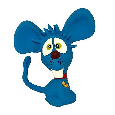 Brinquedo Borracha Latoy Ratinho Dentinho Para Cachorro