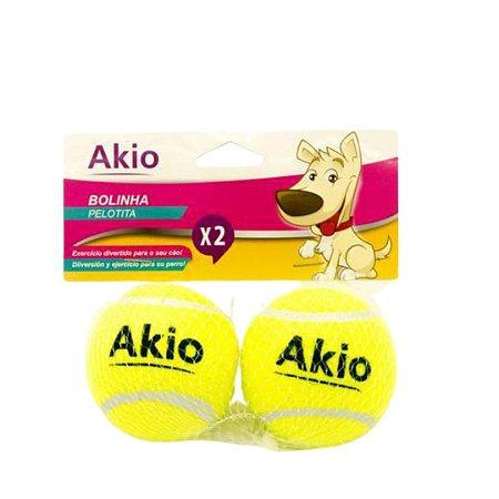 Brinquedo Kit Bolinha de Tênis Para Cachorro – Akio