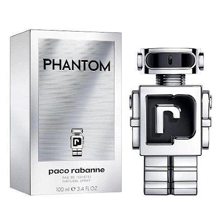 Perfume Phantom Paco Rabanne Eau de Toilette Masculino - 100ml