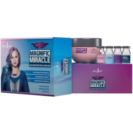 Kit Capilar Magnific Miracle Mary Life
