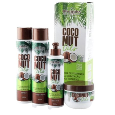 Kit Capilar Coconut - Rhenuks