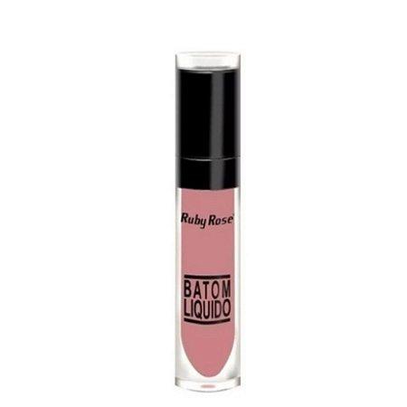 Batom Líquido Matte - Rosa Antigo - 065 Ruby Rose