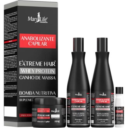 Kit Capilar - Extreme Hair - Anabolizante Capilar