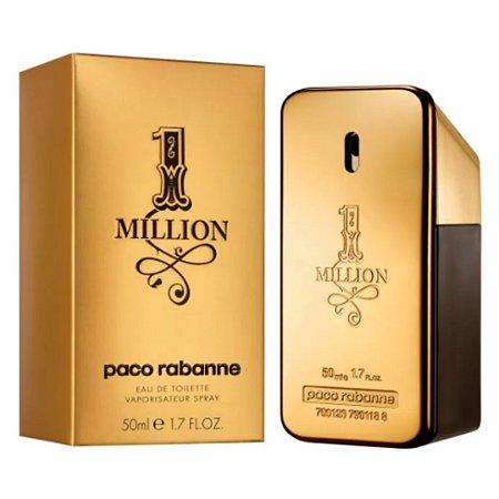 Paco Rabanne 1 Million - Toilette Masc - 50ml