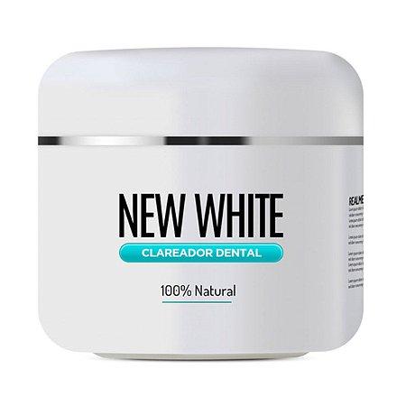 Clareador Dental New White - 100% natural