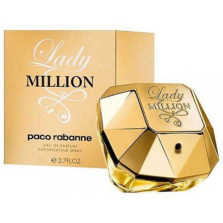 Perfume Paco Rabanne Lady Million Eau De Parfum Feminino 80Ml