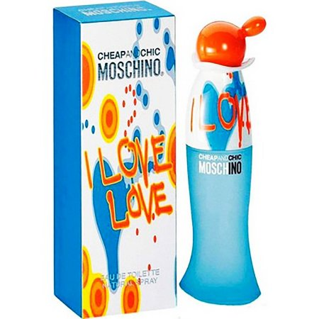 Perfume Feminino Moschino I Love Love 100Ml