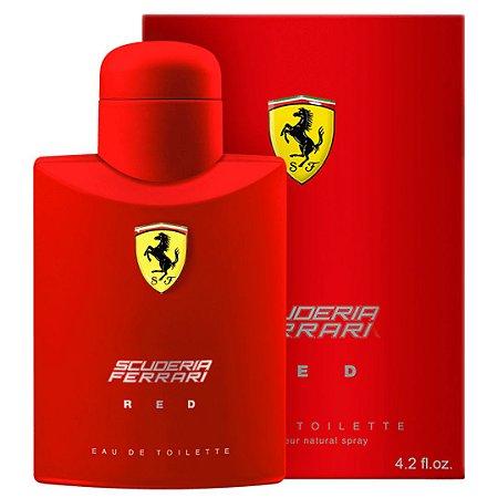 Perfume Ferrari Red Masculino Eau De Toilette 125Ml Ferrari