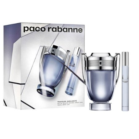 Kit Paco Rabanne Invictus EDT 100ml + Travel Spray 20ml