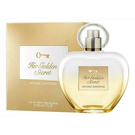 Perfume Antonio Banderas Her Golden Secret Eau De Toilette 80ml