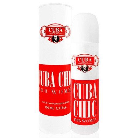 Perfume Feminino Cuba Chic For Women Eau de Parfum 100ml