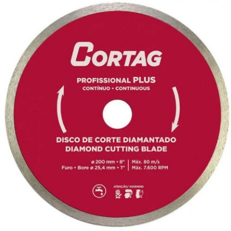 DISCO DIAM.CONT.LISO 200MMX25,4MM 60570