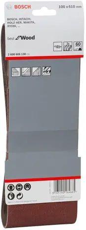 Lixa de cinta best for Wood 100x610mm G60