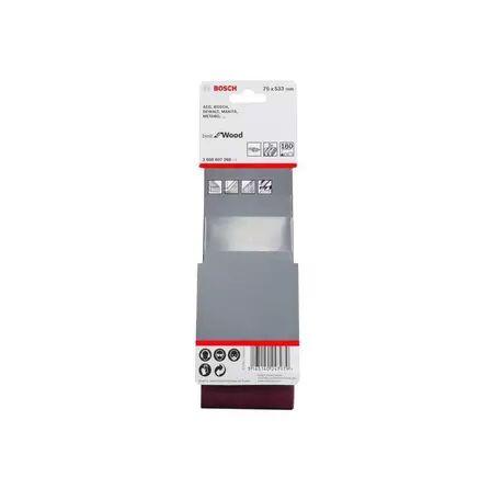 Lixa de cinta best for Wood 75x533mm G180