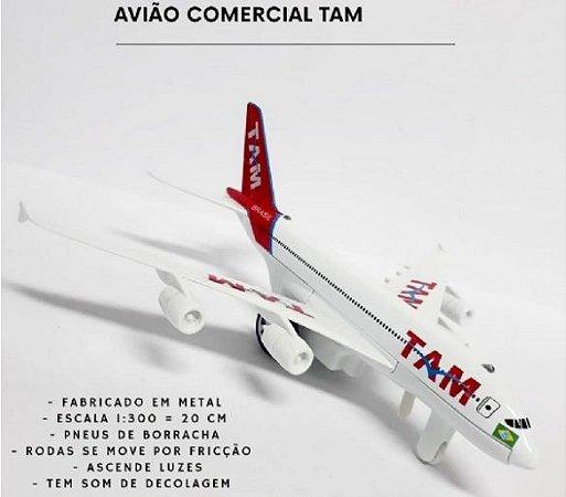 Avião Miniatura TAM