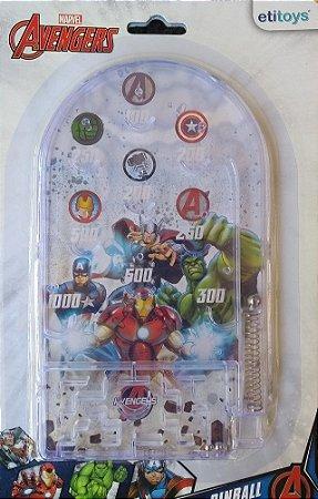 Jogo De Pinball Mini - Vingadores - Marvel