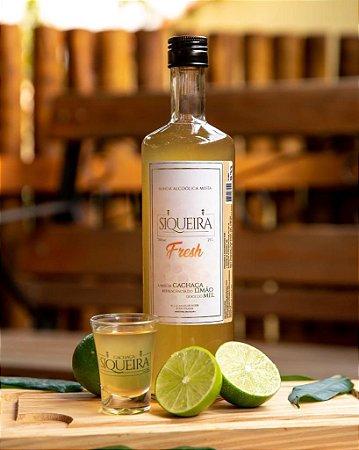 Bebida alcoólica mista - Cachaça Mel e limão