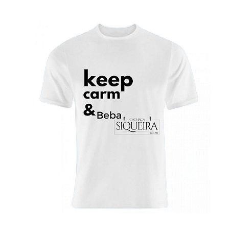Camiseta keep Siqueira