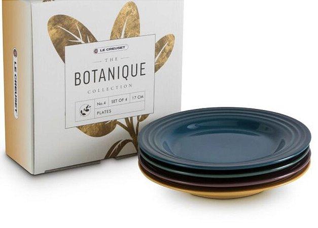 Set 4 Pratos Aperitivo Botanique