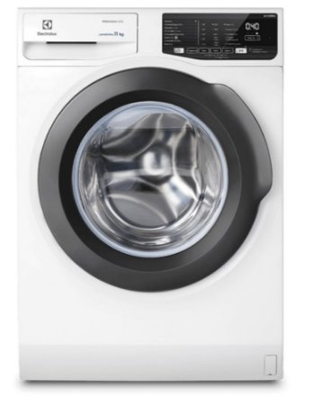 Máquina de Lavar Frontal 11kg Electrolux Premium Care Inverter com Água Quente/Vapor