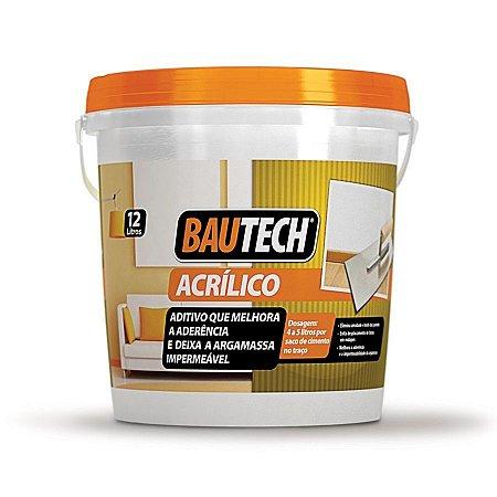 BAUTECH  - Aditivo que melhora Aderência e deixa a Argamassa Impermeável