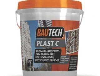 BAUTECH - Plast C Aditivo Plastificante para Assentamento, Revestimento e Reboco