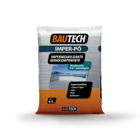 BAUTECH - Imper Pó Impermeabilizante Monocomponente