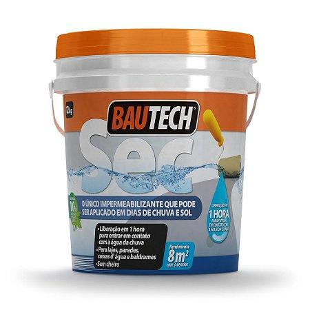 BAUTECH - SEC Impermeabilizante para Aplicação em dia de Sol e Chuva
