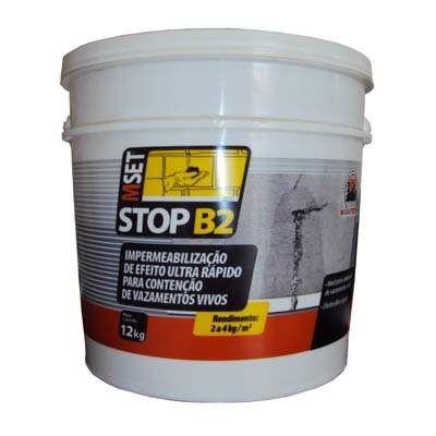 BAUTECH - STOP B2 Impermeabilizante de Efeito Ultra Rápido para Contenção de Vazamentos Vivos