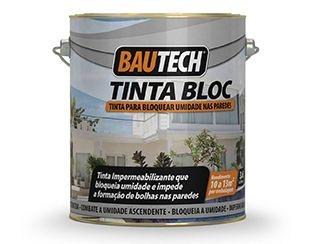 BAUTECH - Tinta BLOC Bloquear a Umidade e Impede nas Paredes