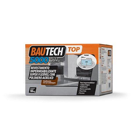 BAUTECH - Revestimento Impermeabilizante Super flexível com Polímero Acrilíco TOP 5000