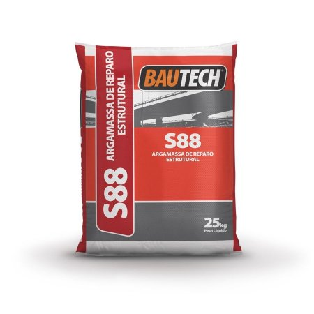 BAUTECH - Argamassa de Reparo Estrutural S 88