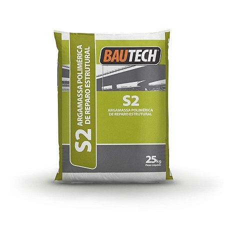 BAUTECH - Argamassa Polimérica de Reparo Estrutural S2