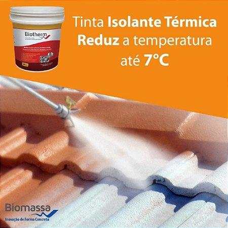 BIOMASSA - Tinta Isolante Térmica Biotherm