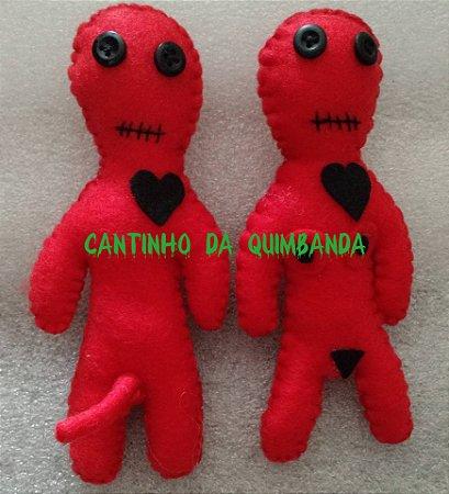 Boneco De Quimbanda Voodoo Casal
