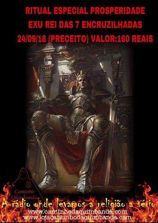 Ritual Especial Prosperidade Exu Rei 7 Encruzilhadas