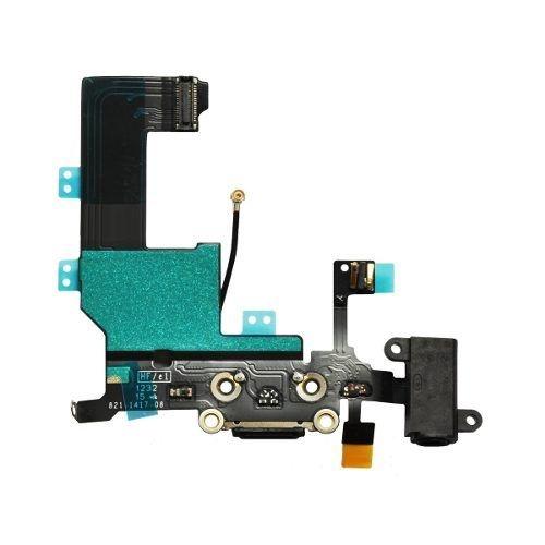Flex c/conector de carga Iphone 5G preto
