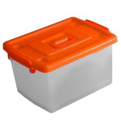 Caixa organizadora capacidade 35L - 12 unidades