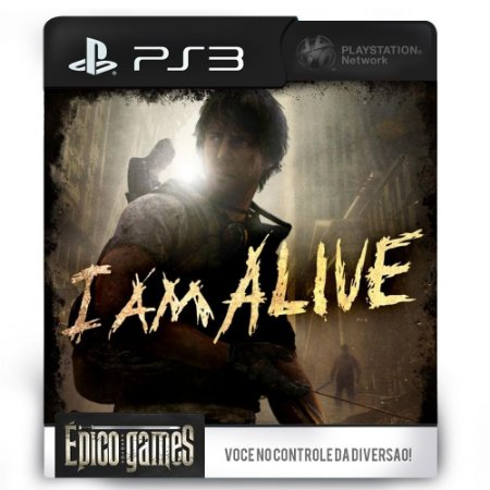 I Am Alive - PS3 - Midia Digital