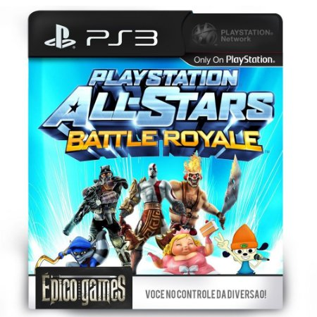 PlayStation All-Stars Battle Royale - PS3 - Midia Digital