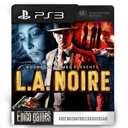 L.A. Noire - PS3 - Midia Digital