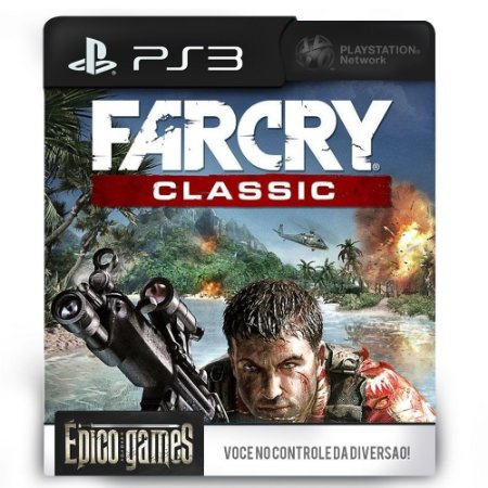 Far Cry Classic - PS3 - Midia Digital