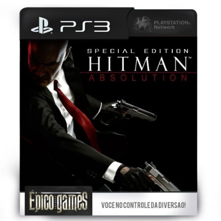 Hitman Absolution Special Edition - PS3 - Midia Digital