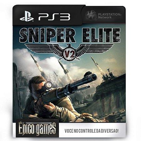 Sniper Elite V2 - PS3 - Midia Digital