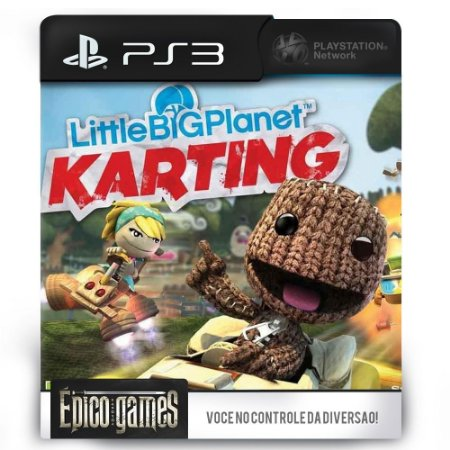 Little Big Planet Karting - PS3 - Midia Digital