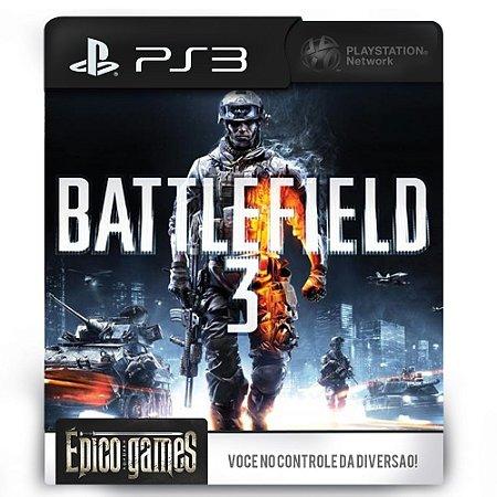 Battlefield 3 - PS3 - Midia Digital
